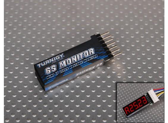 Turnigy迷你锂聚合物电池监视器(2S〜6S)