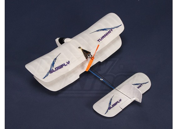 Turnigy超轻型Slowflyer W /锂聚合物和BL先驱者插件正飞