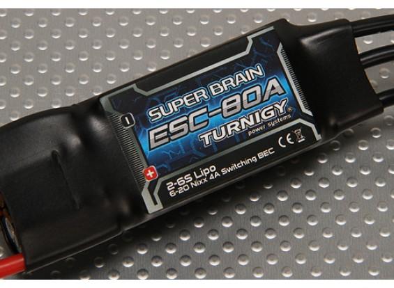 Turnigy超级脑80A无刷电调