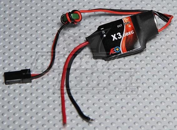 X3 UBEC 6V-23V输入 -  5V 3A输出