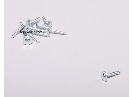 自攻螺丝M2x12mm十字W /肩(10片装)