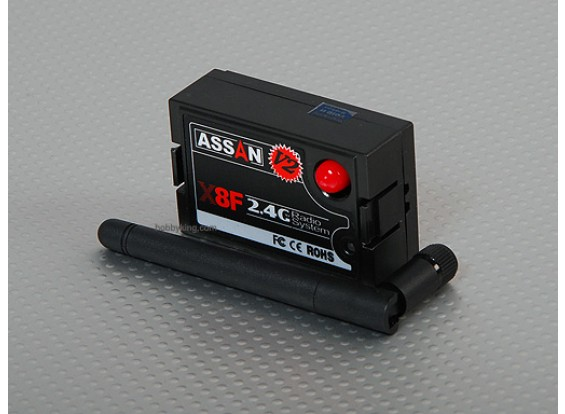 X8F 2.4GHz的双叶模块