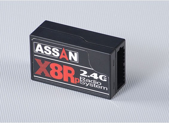 X8Rp 2.4GHz的8通道接收器Parkflyer