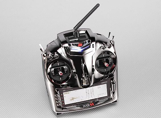 JR XG11 11通道的2.4GHz DMSS变送器重量/ RG1131B接收机(模式2)
