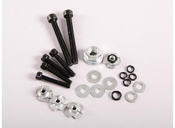 什锦螺母,螺栓和垫圈组用于汽油发动机