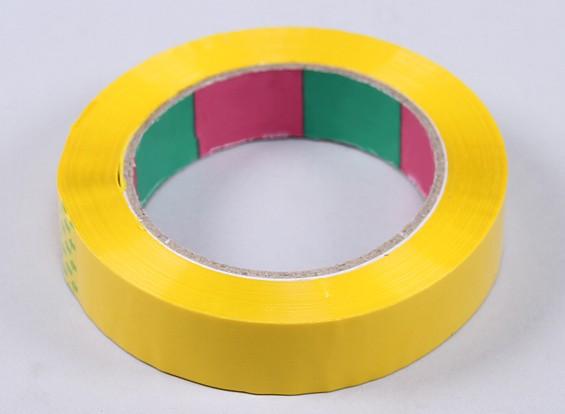 永磁带45mic x 24毫米x 100米(窄 - 黄色)