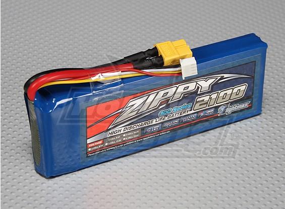 ZIPPY Flightmax对2100mAh 3S1P 30C磷酸铁锂包