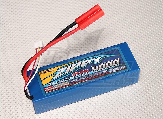 ZIPPY 4000mAh的3S1P 20C HARDCASE包