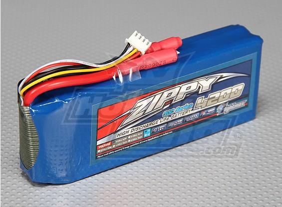 ZIPPY Flightmax 4200mAh 3S1P 30C磷酸铁锂包
