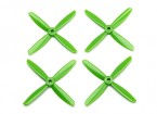 Dalprop Q4045 Bull Nose 4 Blade Propellers CW/CCW Set Green (2 pairs)