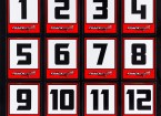 Trackstar Racing Number Decals (2 Sheets)