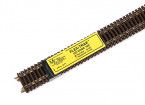 "Micro Engineering HO Scale Code 100 Non-Weathered Flex-Trak 36"" 6pcs (10-102)"