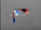 PowerBox适配器导线院长男性 -  JR /双叶0.5毫米线10厘米