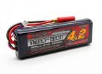 Turnigy纳米技术4200mah 2S2P 40〜80℃(HARDCASE棒包)