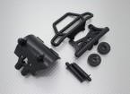 Quanum头骨破碎2WD  - 保险杠集,wheeliebar与联动板