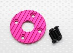 铝合金CNC电机散热板上36毫米(紫/红)