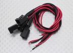 莫仕2针电缆母接头220毫米点¯x26AWG线材(5件)
