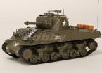 美国的M4A3谢尔曼中型遥控坦克RTR瓦特/的Tx