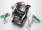 教练端口/ RF PCB装配 -  Turnigy 9XR变送器