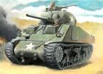 Italeri 1/56规模Italeri 1/56美国的M4谢尔曼坦克75毫米塑料模型套件