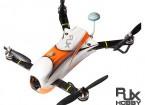 RJX CAOS 330 FPV赛车四路组合瓦特/马达,ESC,飞行控制器,相机和FPV系统(橙色)