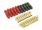 6毫米SUPRA点¯x黄金子弹极化连接器套件(5对)