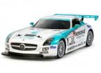 田宫1/10梅赛德斯 - 奔驰SLS AMG GT3 W / TA06机箱套件58561