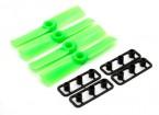 GemFan牛鼻3030 ABS螺旋桨顺时针/逆时针树立绿色(2对)
