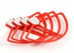 DJI幻影3系列螺旋桨防护套装(红色)(4件)
