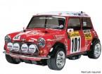 田宫1/10规模的Mini Cooper 94蒙特卡洛M-05机箱W / ESC 58483