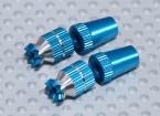 合金防滑TX控制棒短(M3双叶为 - 蓝)