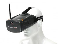 Quanum Cyclops V2 FPV Goggle w/ Integrated Monitor and 40ch Receiver