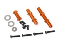 BSR Berserker Wheelie Bar Replacement Spacer and Axle Set (1 set)
