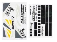 Avios BushMule - Sticker Set (Yellow/Grey)