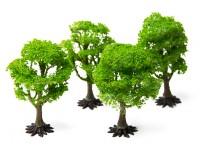 HobbyKing Model Railway Scale Trees 90mm (4 pcs)