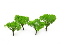 HobbyKing Model Railway Scale Trees 65mm (4 pcs)