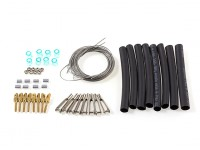 Kingcraft Pitts Special S-2B 1200mm Replacement Interplane Rigging Wire Set