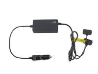 EV-Peak In Car Twin Battery Charger for DJI Mavic CR1305 12V 65W