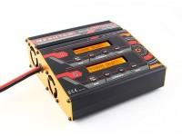 Turnigy Reaktor 2 x 300W 20A Balance Charger now with NiZN and LiHV