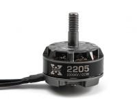 XRotor-2205-2300KV  - 钛 -  CCW-V1 * 1PCS