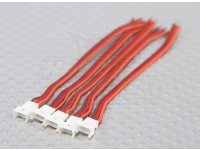 微型伺服连接器铅1.25间距 - 公插头(5片/袋)