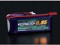 Turnigy纳米技术950mAh的3S 25〜50℃前列包