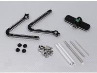 CNC铝合金支柱平衡器的螺旋桨,EDF与合力轴/刀片