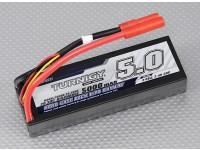 Turnigy 5000mAh的2S1P 20C HARDCASE包(吼准)(DE仓库)