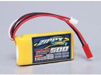 ZIPPY紧凑型500mAh的2S 25C前列包
