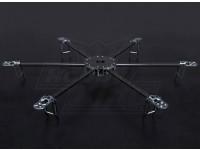 Turnigy爪Hexcopter(V1.0)碳纤维车架 - 625毫米