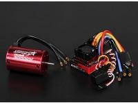 Turnigy TrackStar防水1/10无刷动力系统3000KV / 80A
