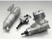 ASP S32A二冲程发动机发光