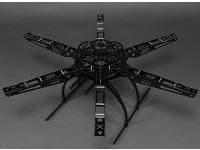 HobbyKing S650玻璃纤维Hexcopter框架655毫米