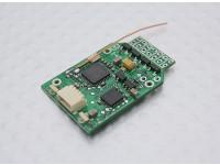 微MWC飞行控制局DSM2兼容ESC的X4拉丝综合